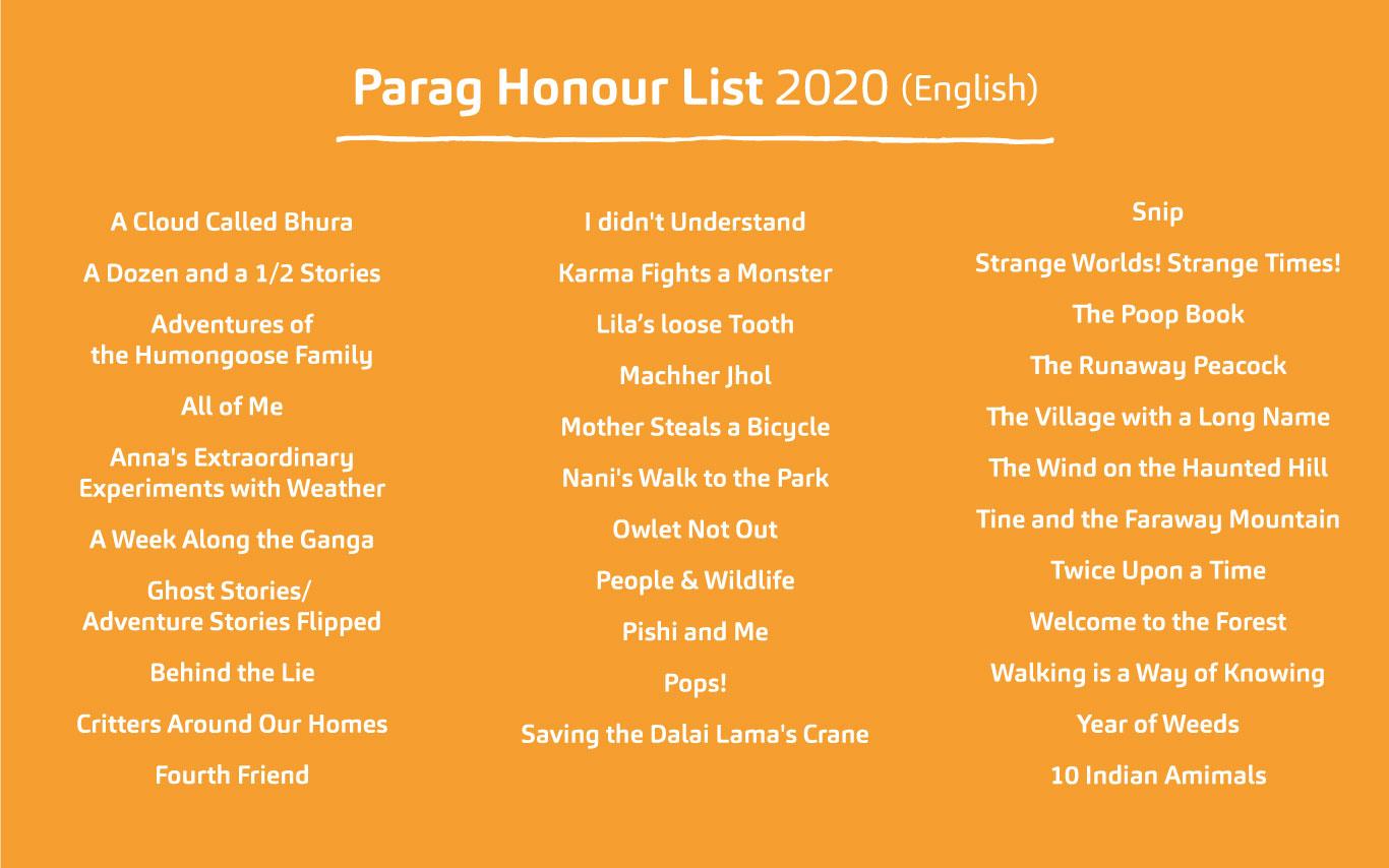 Parag Honour List